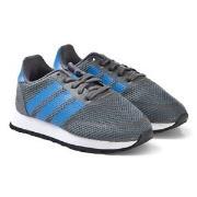 adidas Originals Grey and Blue N-5923 Sneakers 24 (UK 7)