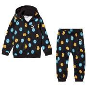 Puma Black Sesame Street Infants Hoodie & Jogger Set 1-2 years